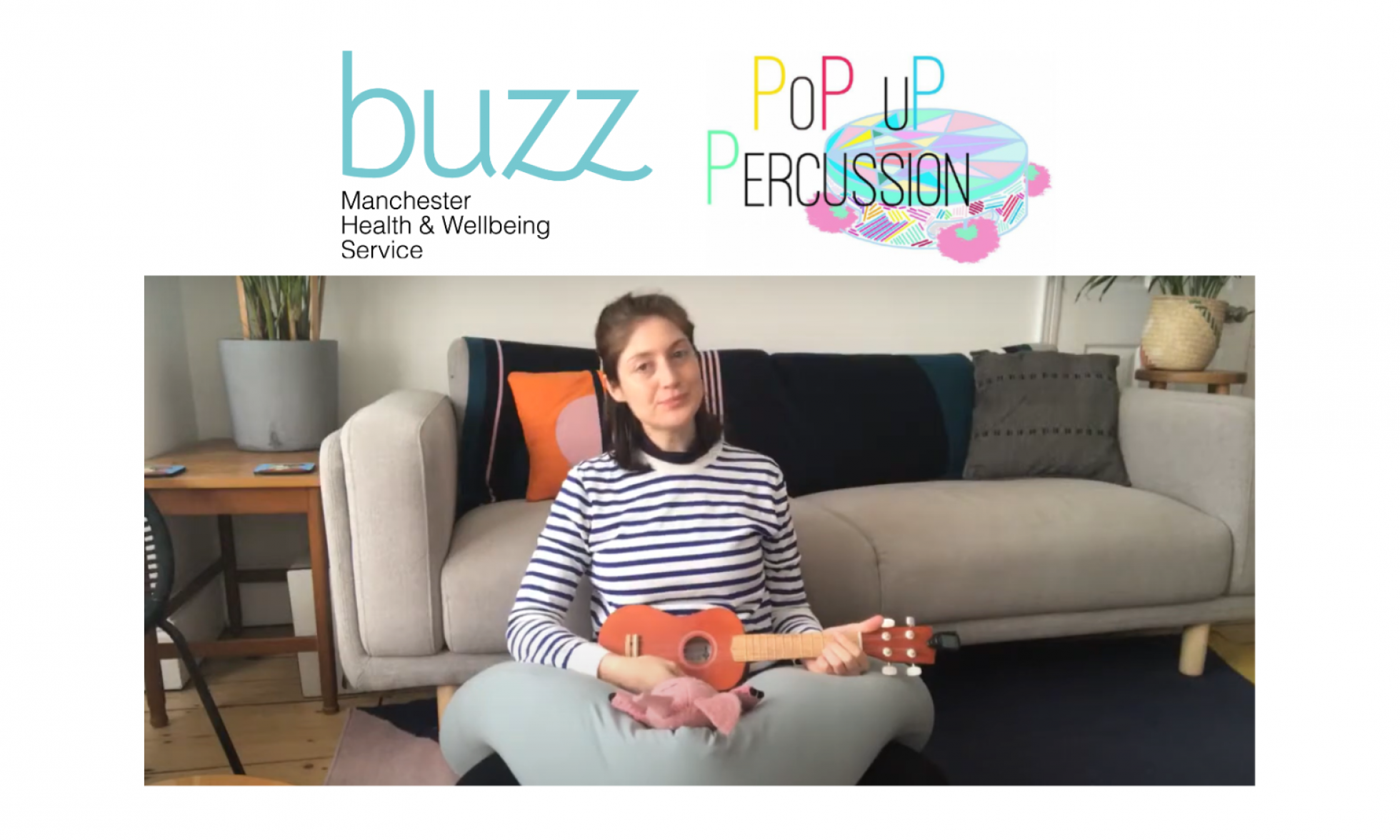 Pop Up Percussion – FREE wonderfully fun, creative music sessions for children 0-6!