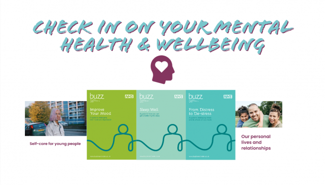 Check In On Your Mental Health Wellbeing blog image
