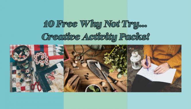 Creative Activity Packs