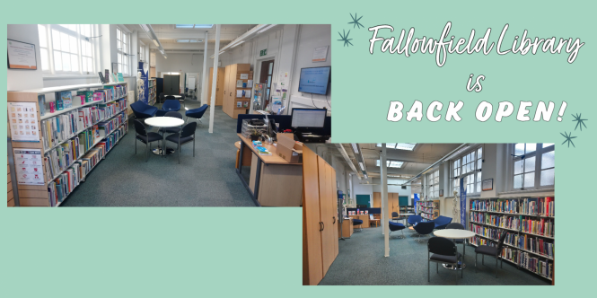 Fallowfield Library tweet