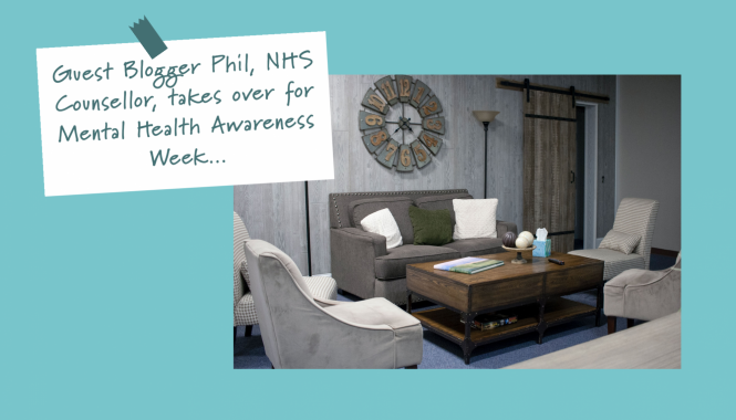Guest Blogger Phil NHS Counsellor