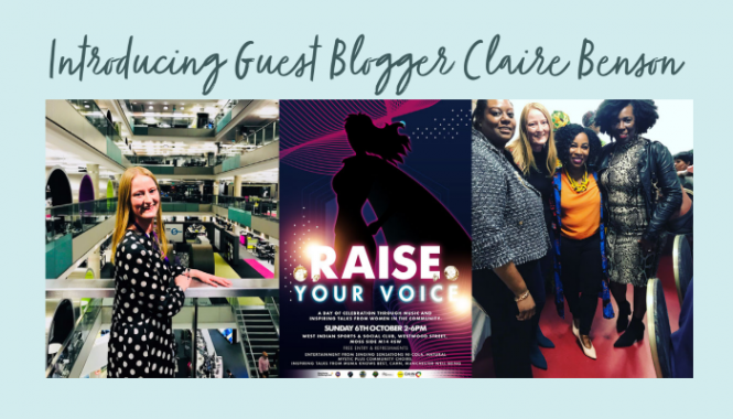 Introducing Guest Blogger Claire Benson