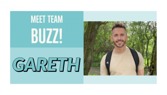 Meet Team buzz Gareth