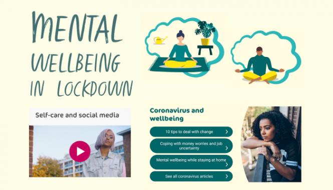 Mental wellbeing lockdown