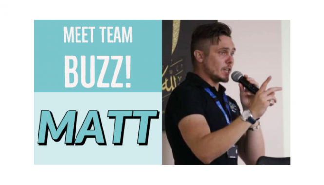 Team buzz Matt