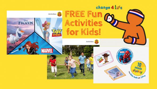 Change 4 life activities card image