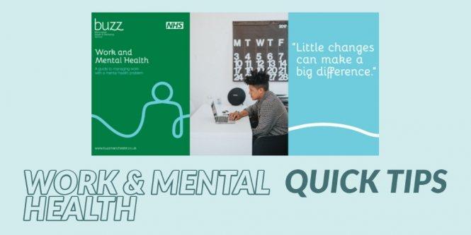 Work and mental health blog image