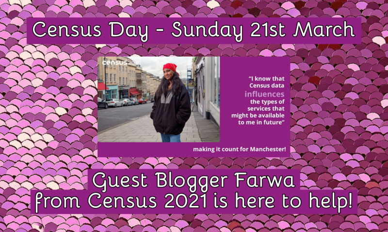Guest Blogger Farwa from Census 2021 is here to help!