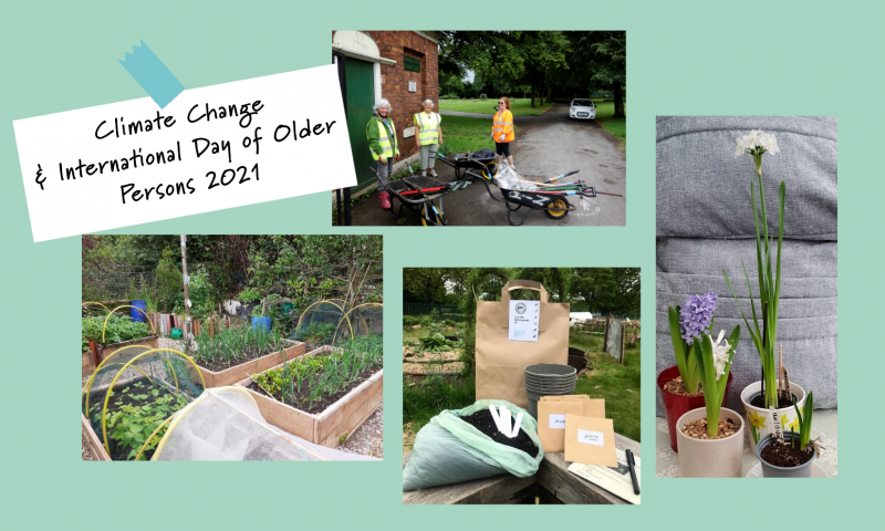 Climate Change & International Day of Older Persons 2021