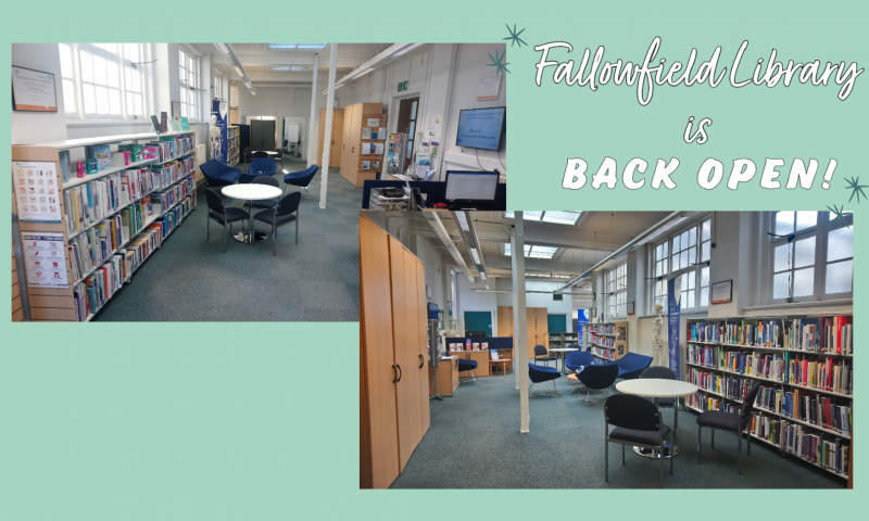 Fallowfield Library is back open!