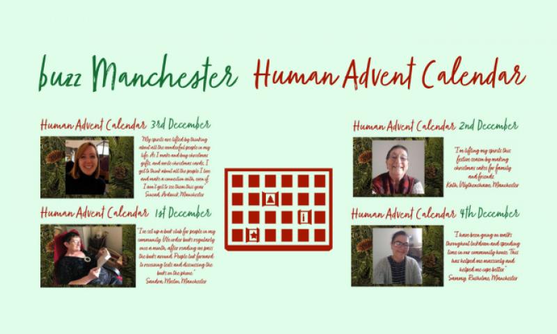 buzz Manchester Human Advent Calendar