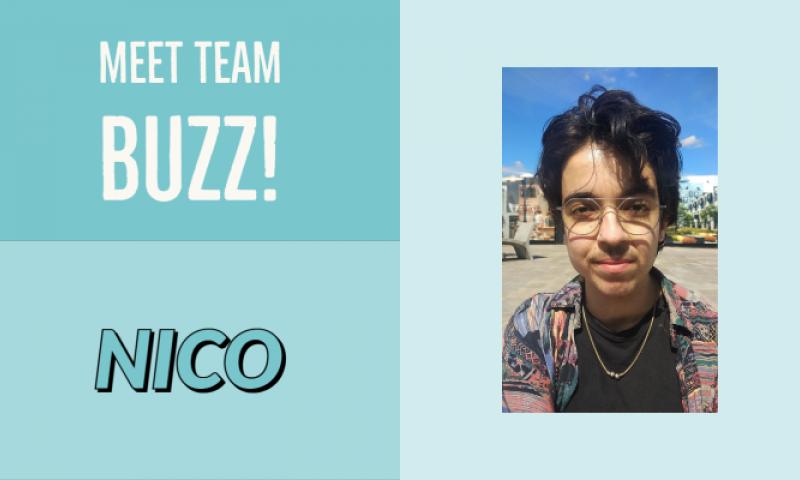 Meet Team buzz: Nico