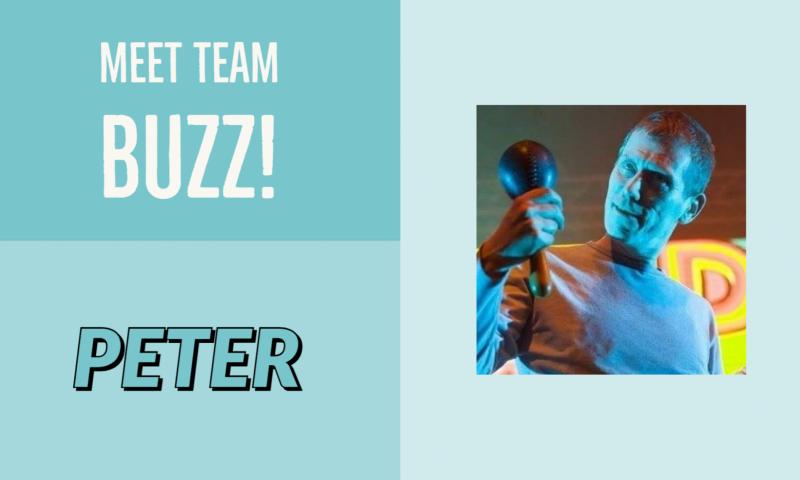 Meet Team buzz: Peter