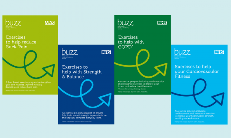 NEW buzz Exercise Guides