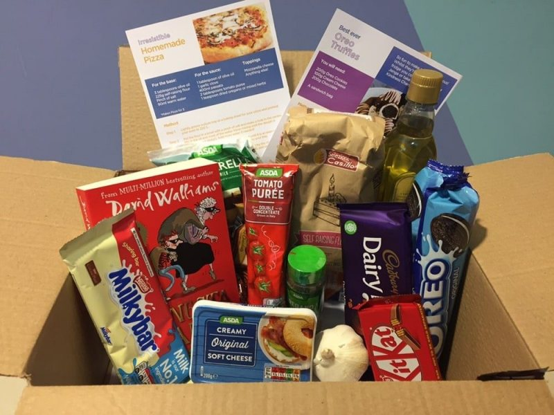 Family wellbeing boxes for Christmas with Citywise