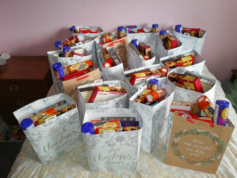 Over 50s gift bags