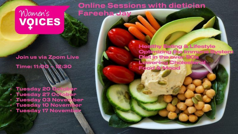 Women's Voices Healthy Eating Online Sessions