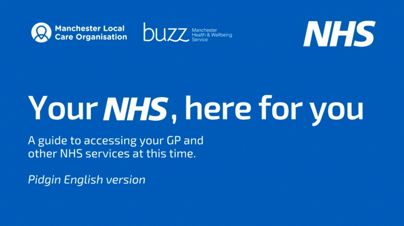 Your NHS, here for you