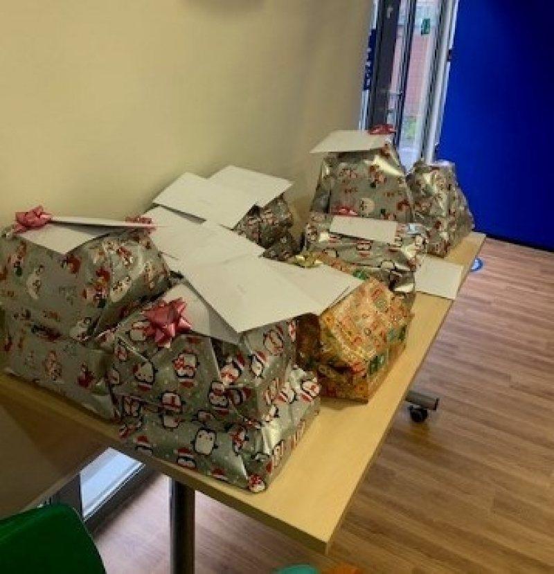 Christmas boxes for Women's refuge