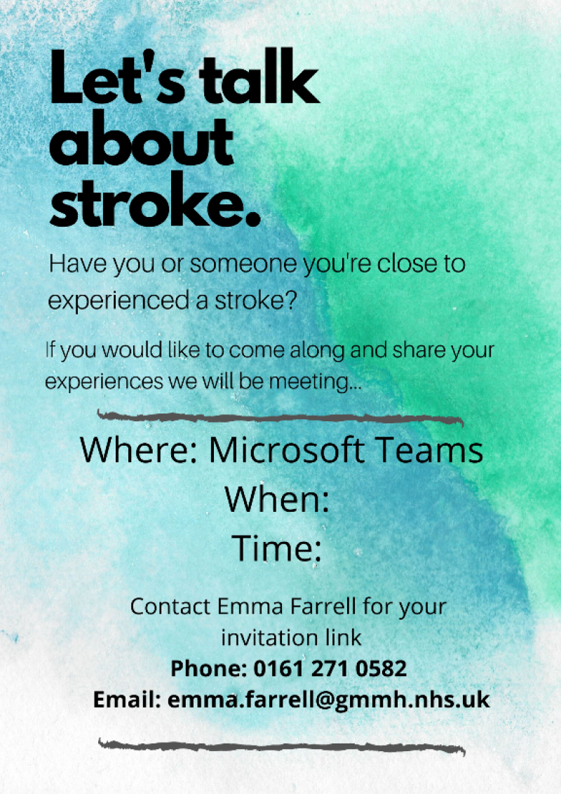 Let's talk about Stroke
