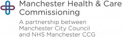 Manchester Health & Care Commissioning logo